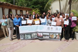 Participants/observers at the joint training (St Maarten)© St Maarten National Commission for UNESCO